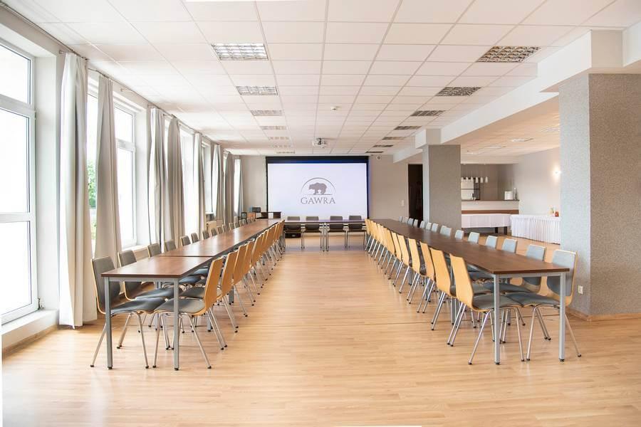 Ośrodek GAWRA - sala konferencyjna