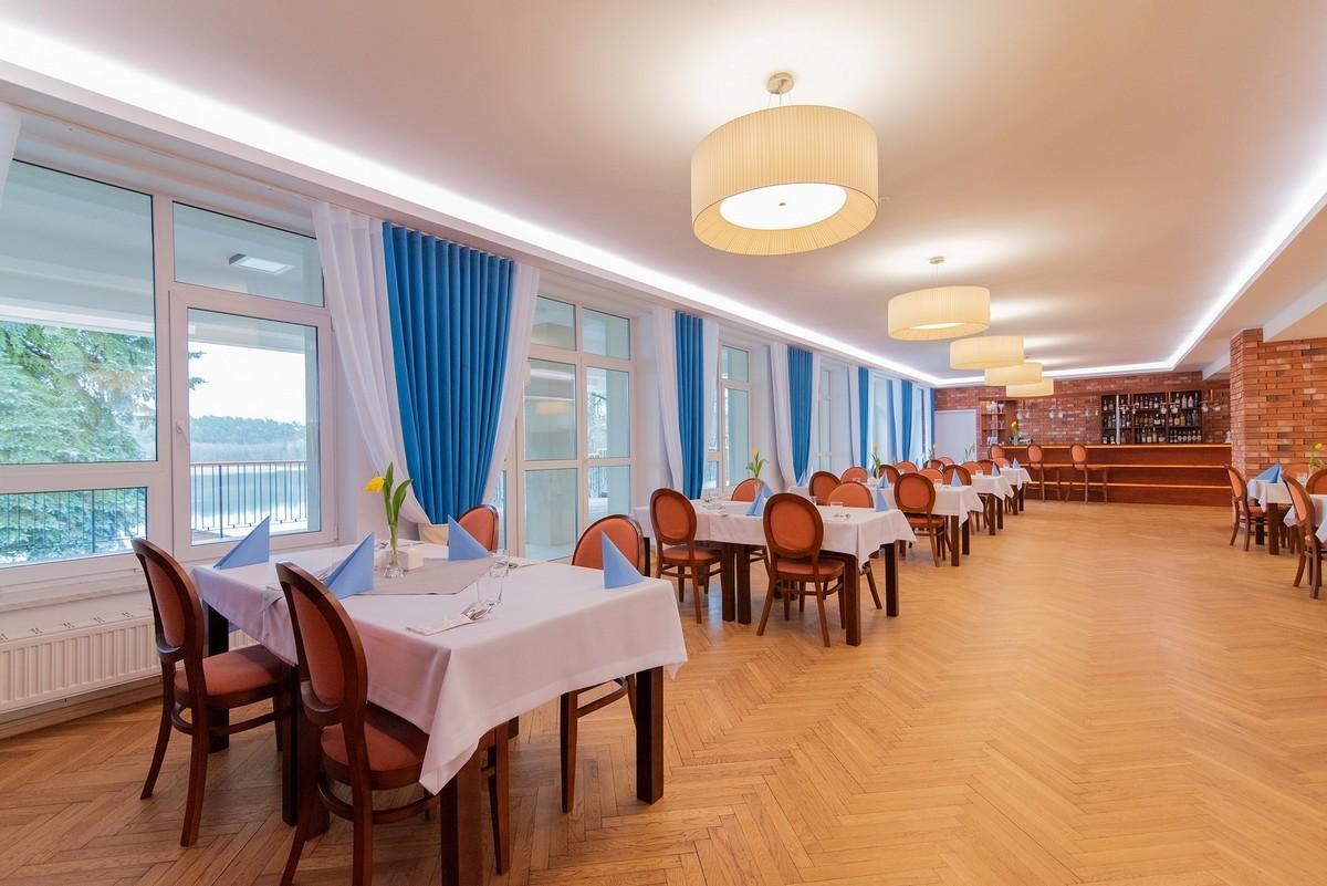 Ośrodek GAWRA na Mazurach - restauracja