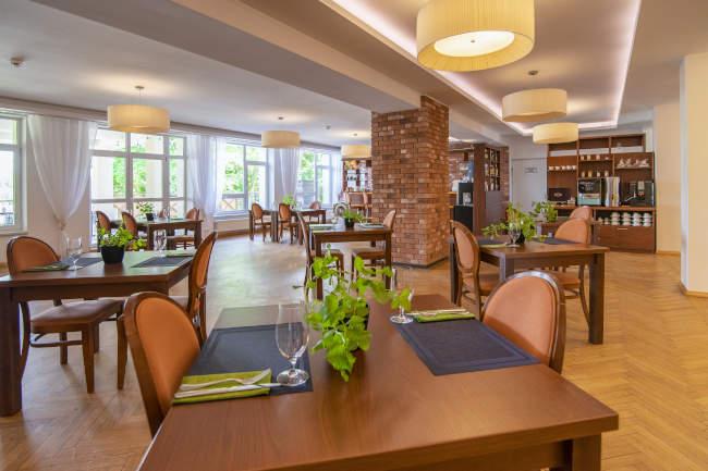 Restauracja Ośrodka GAWRA na Mazurach