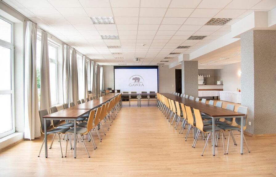 Ośrodek GAWRA - saala konferencyjna